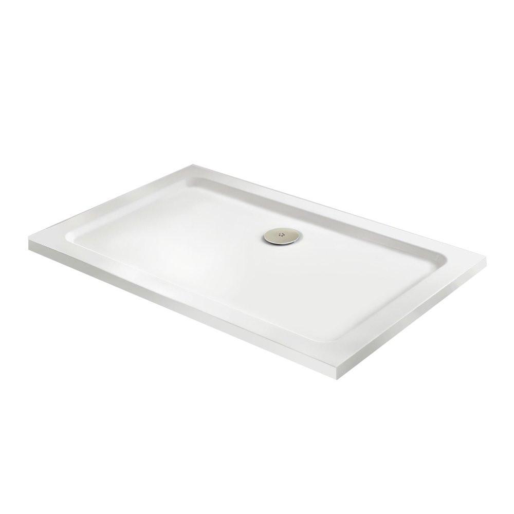 Premier Pearlstone 1400 x 800mm Rectangular Shower Tray | NTP033