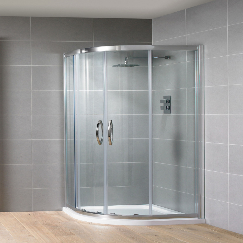 Aquadart Venturi 8 1000mm Double Door Quadrant Shower Enclosure