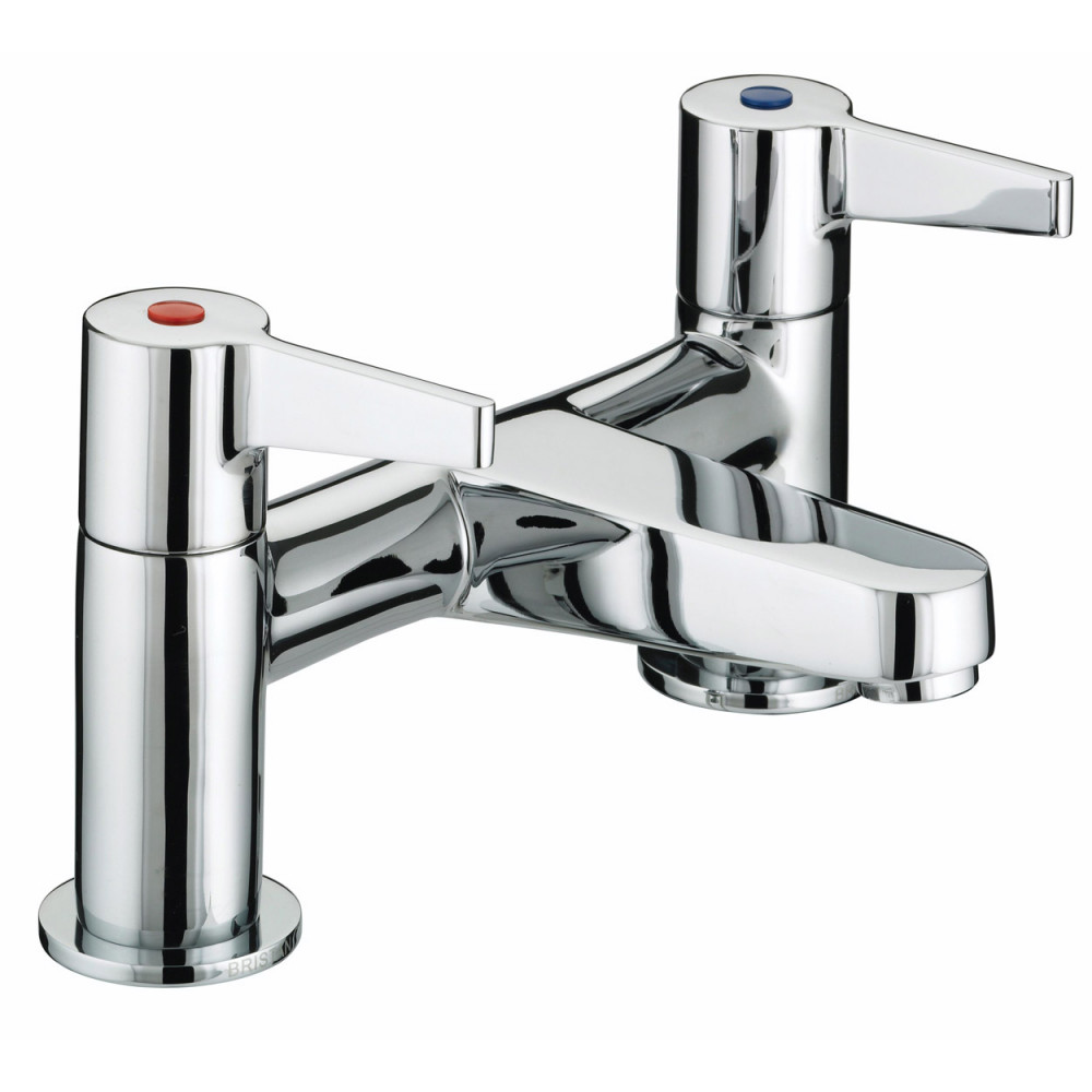 Bristan Design Utility Club Lever Bath Filler, Chrome Plated