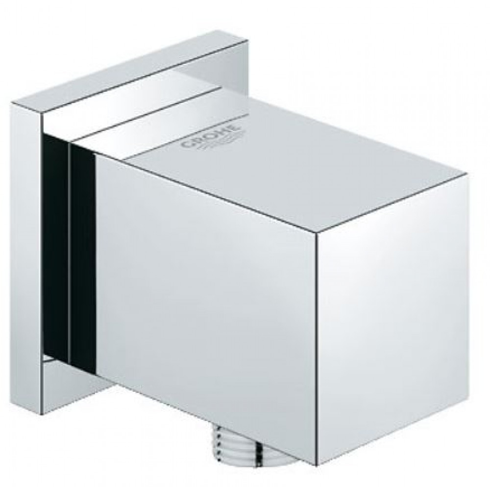 Grohe Euphoria Chrome Cube Shower Outlet Elbow-1