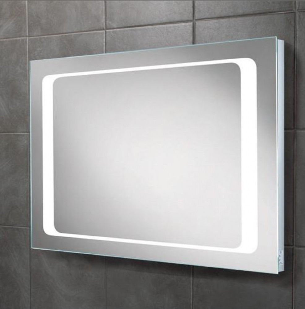 HiB Axis LED Backlit Bathroom Mirror
