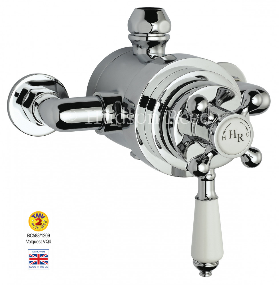 Premier Traditional Dual Exposed Thermostatic Shower Valve