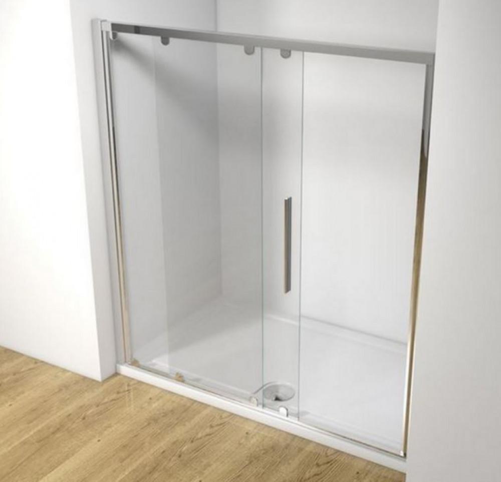 Kudos Original 1700mm Straight Sliding Shower Door