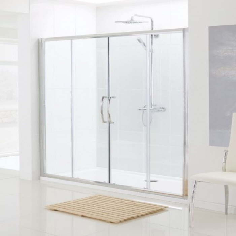 Lakes 1500mm Double Sliding Shower Door