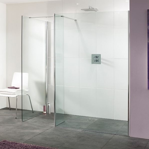 Lakes Palma 800mm Walk In Shower Panel