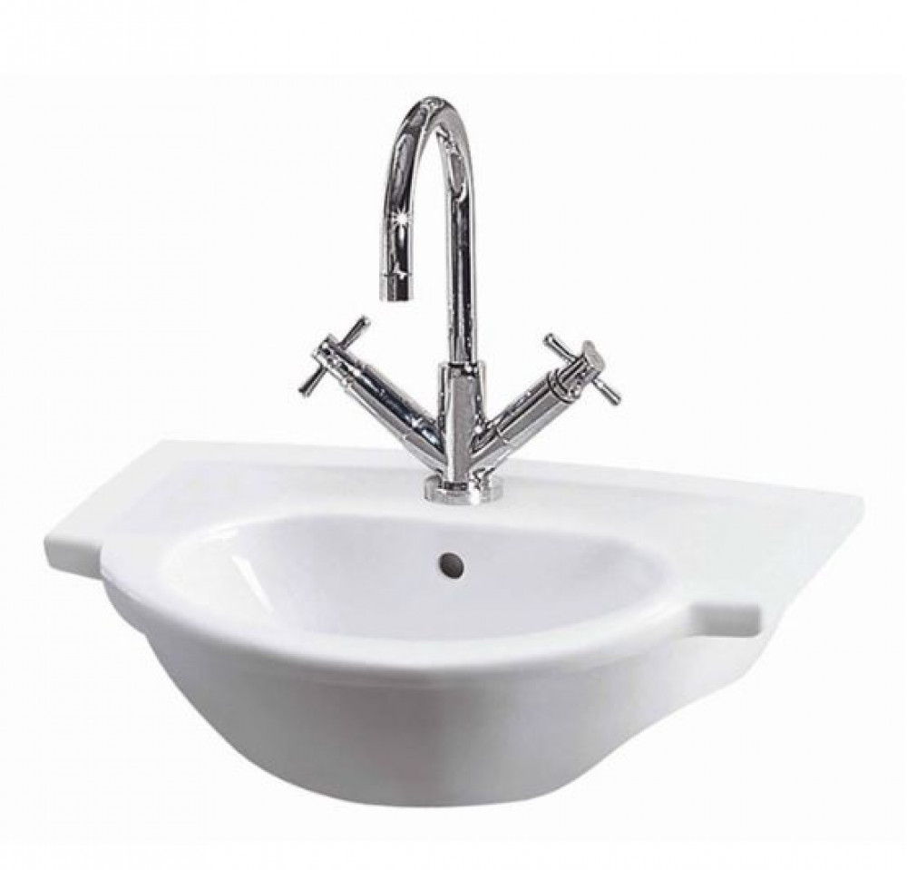 Linton 560 mm Semi Recessed Basin
