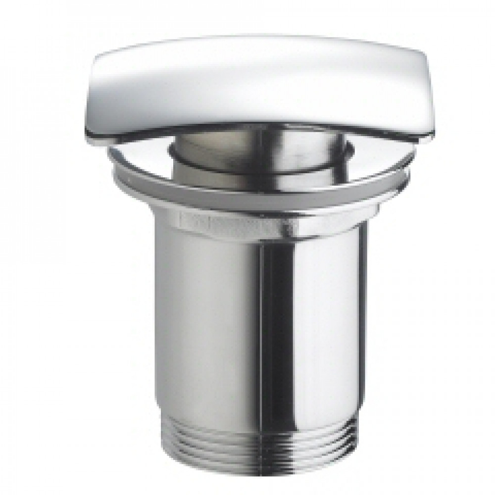 Marflow Square basin Waste, Slotted with Spring Plug T940