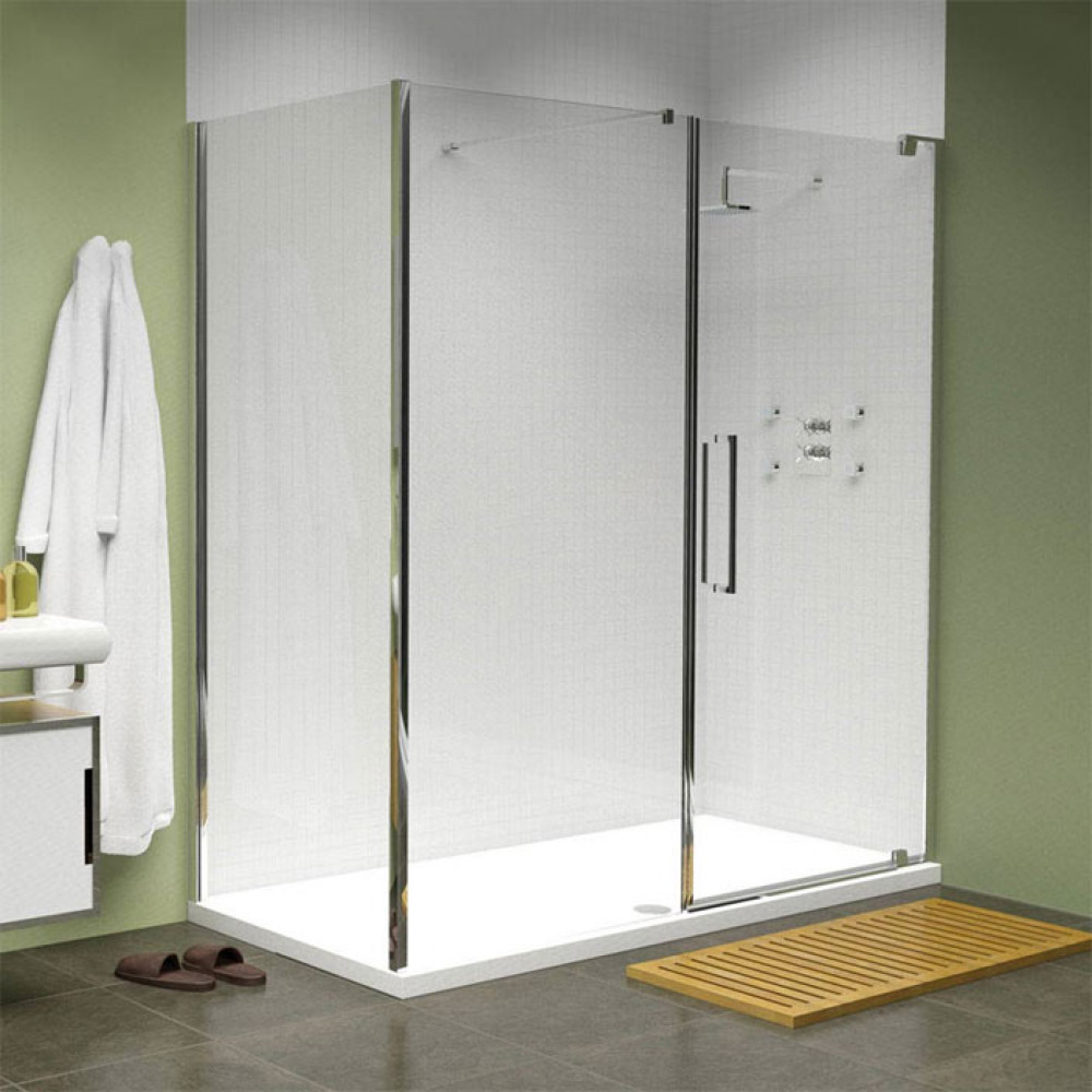 Merlyn 10 Series 1700mm In Line Pivot Shower Door