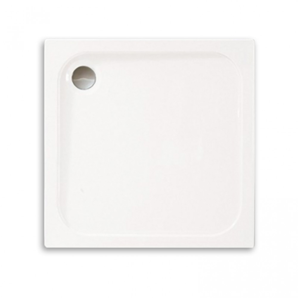 Merlyn 800 x 800mm M Stone Square Shower Tray