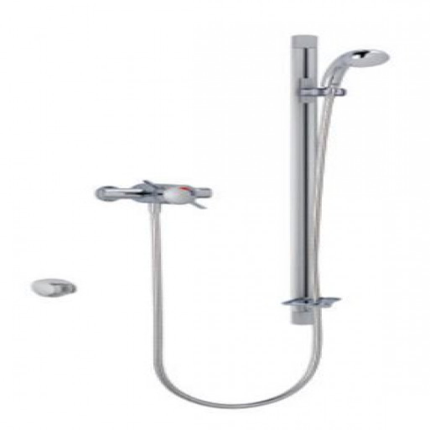 STY-Mira Select Flex Thermostatic Mixer Shower Chrome-1