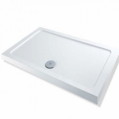 MX Elements 1000 x 900mm Rectangular Low Profile Shower Tray