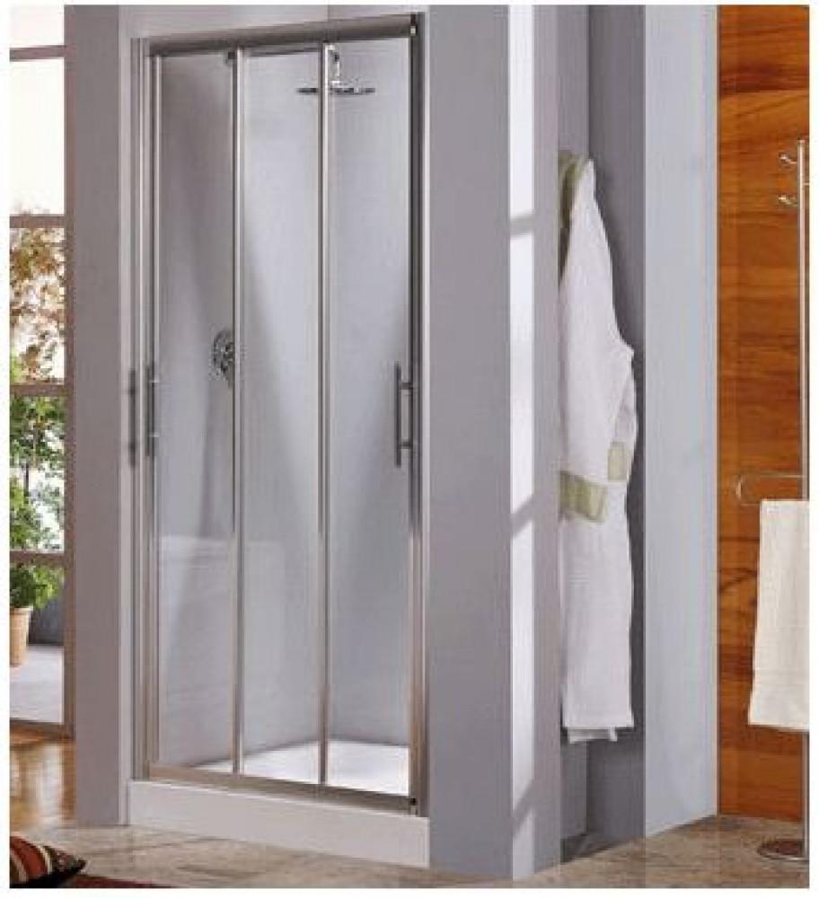 Novellini Lunes P 138-144mm Three Section Sliding Door