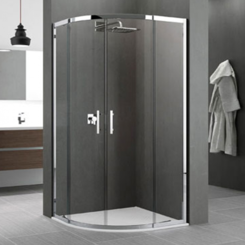 Novellini Zephyros R 800mm Quadrant Shower Enclosure