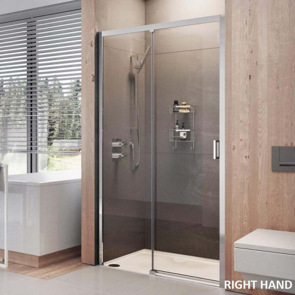 Roman Lumin8 1500mm Level Access Sliding Door Shower
