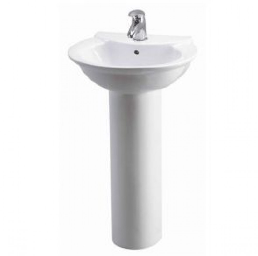Otley 500mm Basin And Pedestal