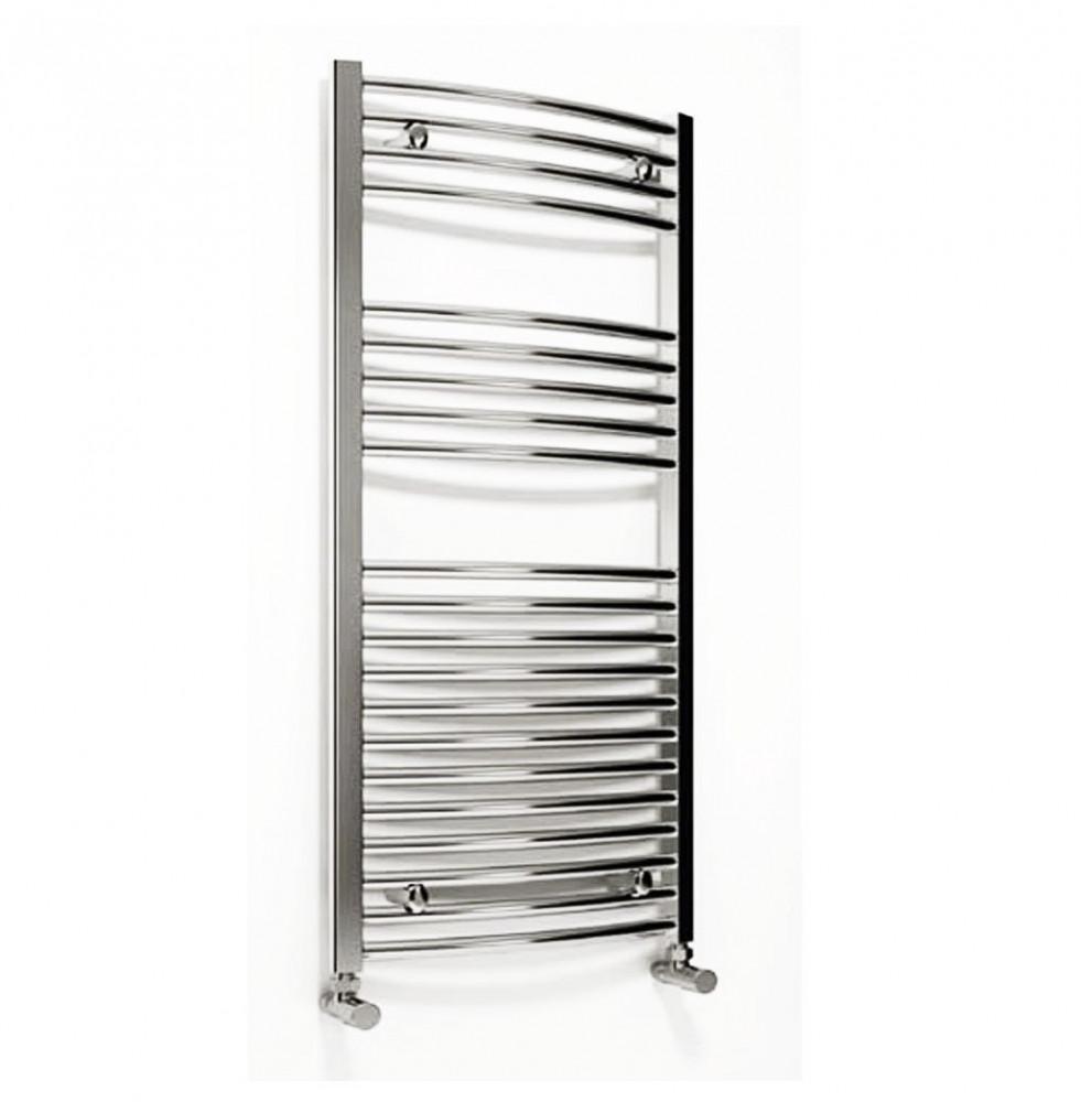 Reina Diva 1200 x 600mm curved heated towel rail