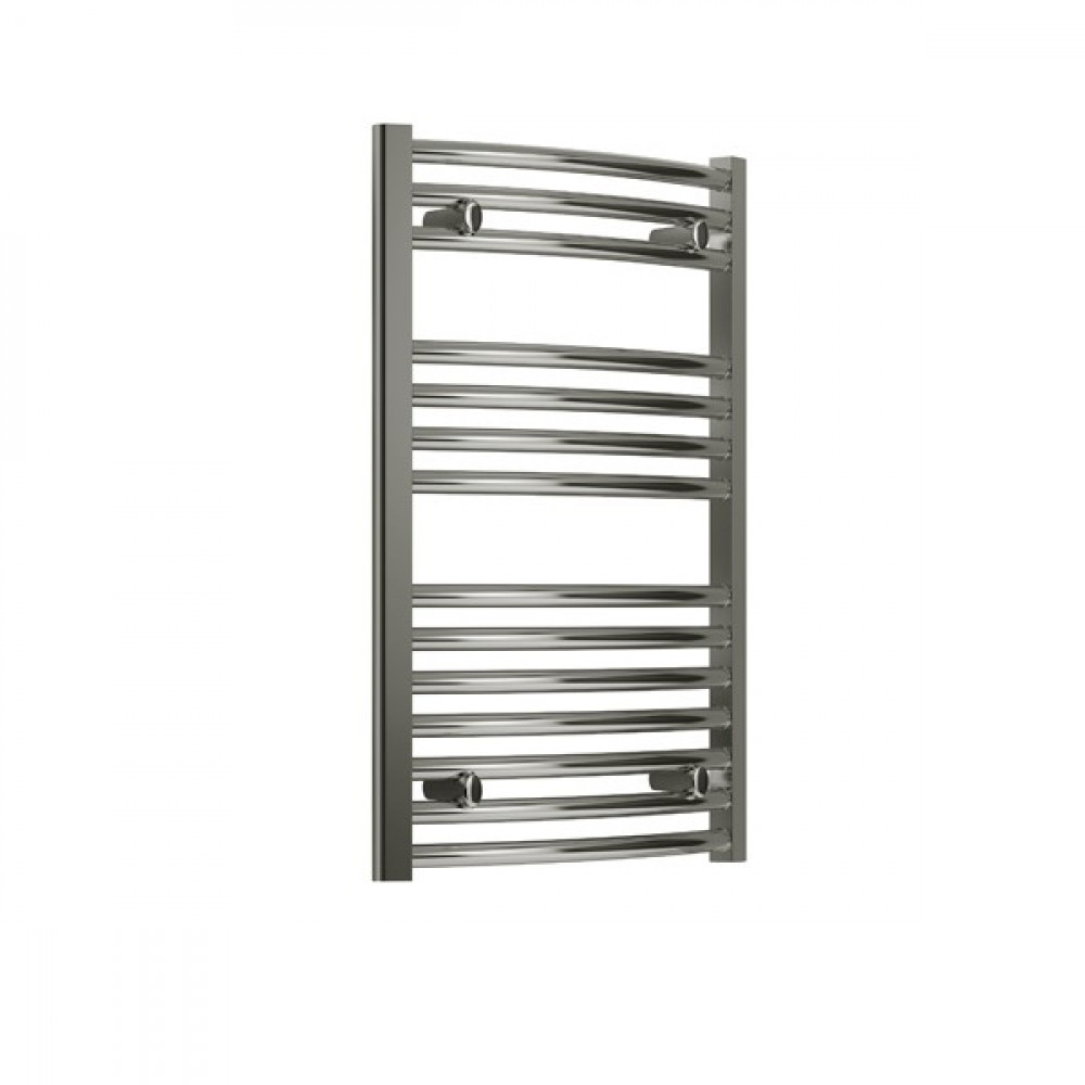 Reina Diva 800 x 750mm curved heated towel rail