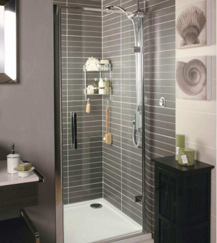 Roman 760mm Embrace Hinged Shower Door