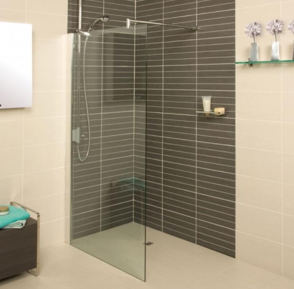 Roman Embrace 600mm Wetroom Corner Panel