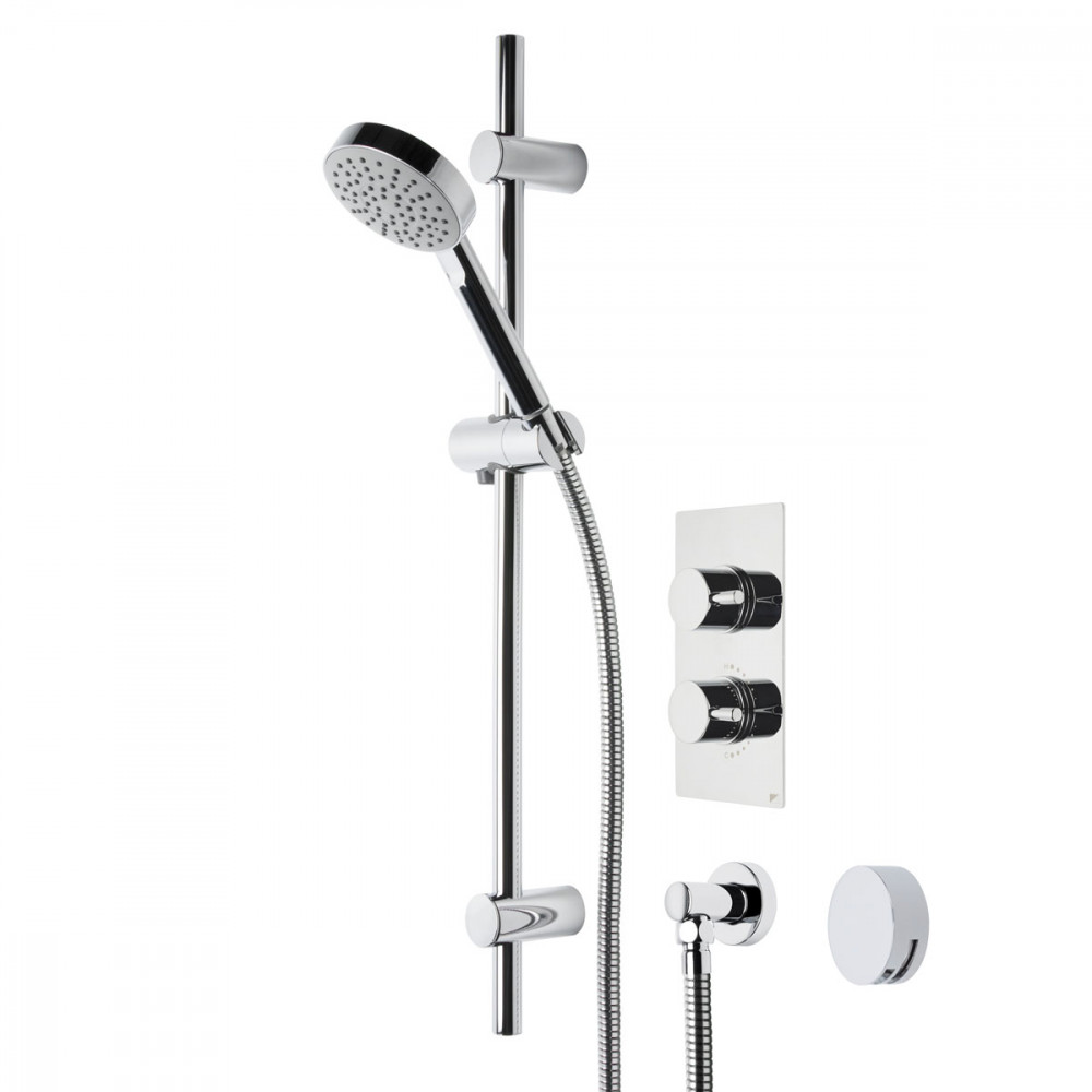 Roper Rhodes Event Round Dual Function Shower System with Bath Filler