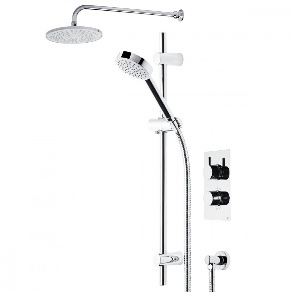 Roper Rhodes Event Round Dual Function Shower System with Fixed Shower Head SVSET01