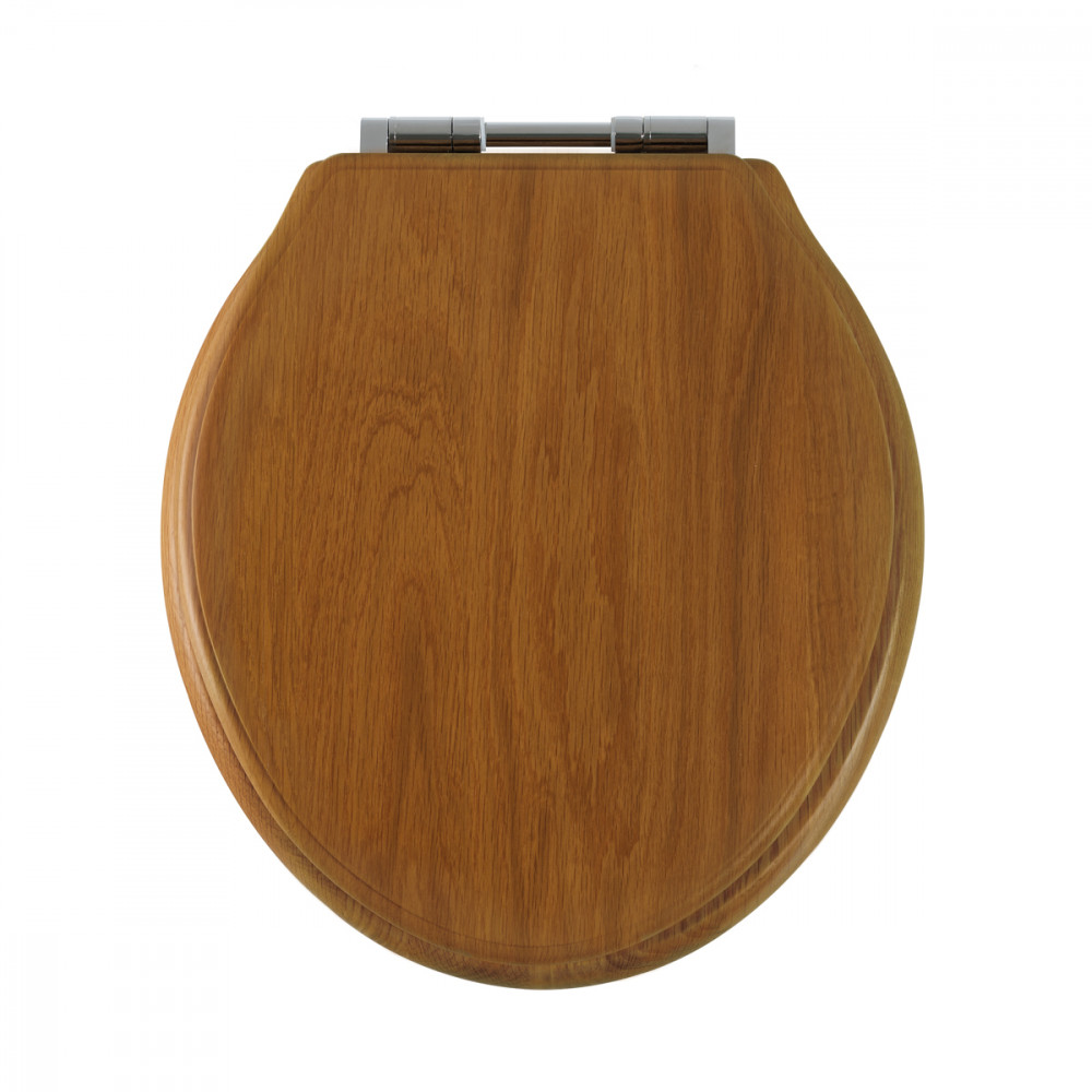 Roper Rhodes Greenwich Solid Wood Honey Oak Soft Close Toilet Seat