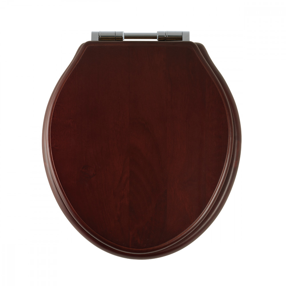 Roper Rhodes Greenwich Solid Wood Mahogany Soft Close Toilet Seat