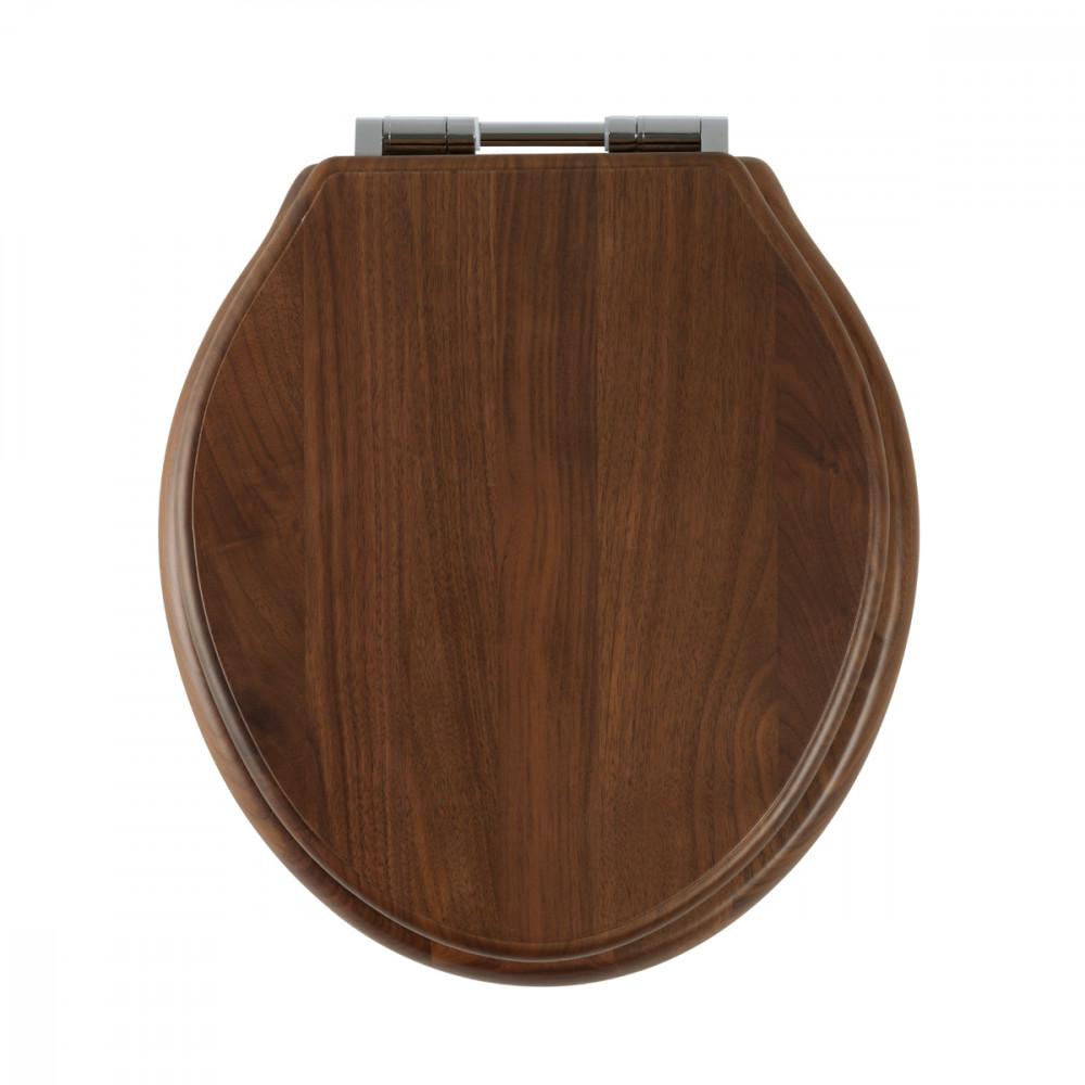 Roper Rhodes Greenwich Solid Wood Walnut Soft Close Toilet Seat