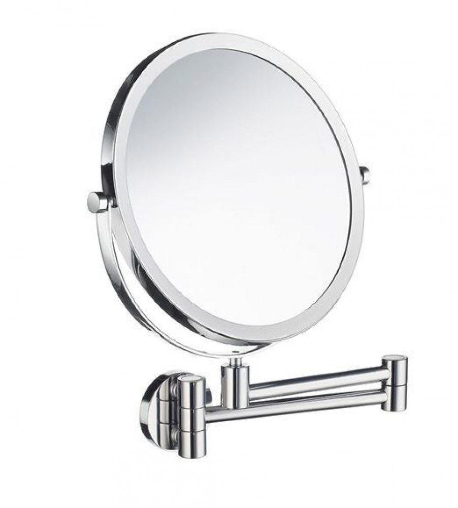 Smedbo Outline Swing Arm Shaving Make Up Mirror 7 Times Magnification