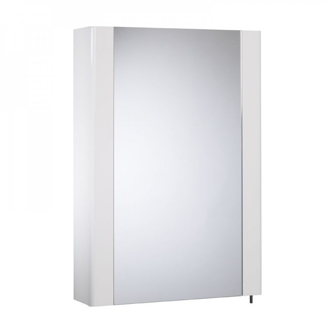 Tavistock Detail White Gloss Single Door Cabinet