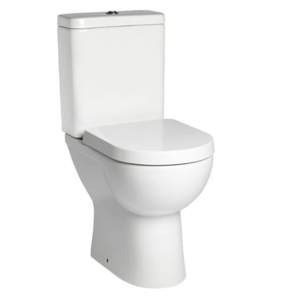Tavistock Ion Comfort Height WC with Cistern and Seat | PC100S/C150S/TS150S