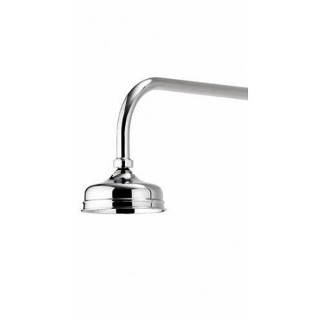 Aqualisa Aquatique Chrome Thermo Concealed Shower Valve with Classic Fixed 5 Inch Drencher Shower Head