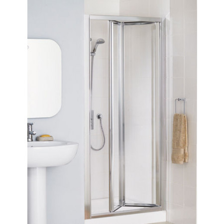 Lakes Bathrooms 700mm Framed Bifold Shower Door