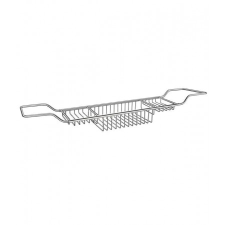 Smedbo Sideline Bath Rack in Polished Chrome