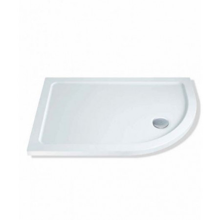 1200 x 800 Offset Quadrant Right Hand Shower Tray