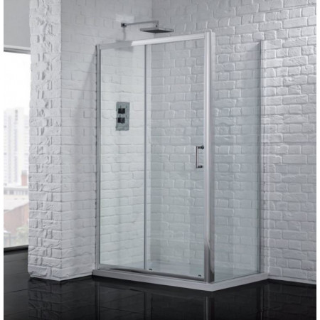 1600mm Sliding Shower Door 6mm