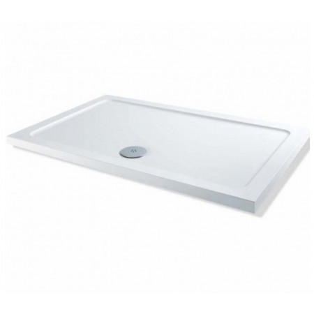 1400mm x 900mm Rectangular Lakes Low Profile Shower Tray & Fast Flow Waste