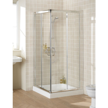 Lakes Corner Shower Enclosure 800mm Semi Frameless