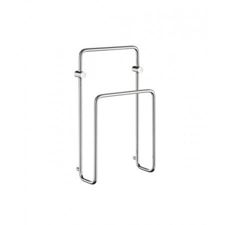 Smedbo Sideline Magazine rack in polished chrome