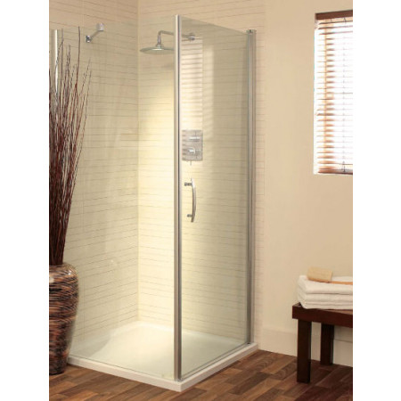 Lakes Italia 1000mm Romano Hinged Shower Door & Panel