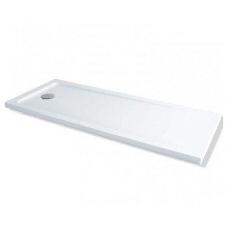 1700mm x 700mm Rectangular Lakes Low Profile Shower Tray & Fast Flow Waste