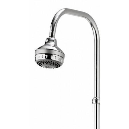 Aqualisa Aquamixa Thermo Bath Shower Mixer with Exposed Fixed Head Combination Boiler