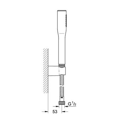 Grohe Euphoria Chrome Cosomopolitan Stick Set-2