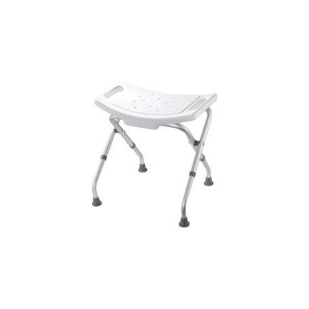 Croydex White Adjustable Bathroom & Shower Seat