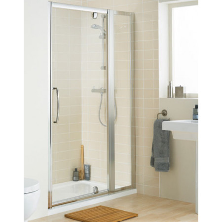 Lakes in-Line Pivot Shower Door, 1200mm