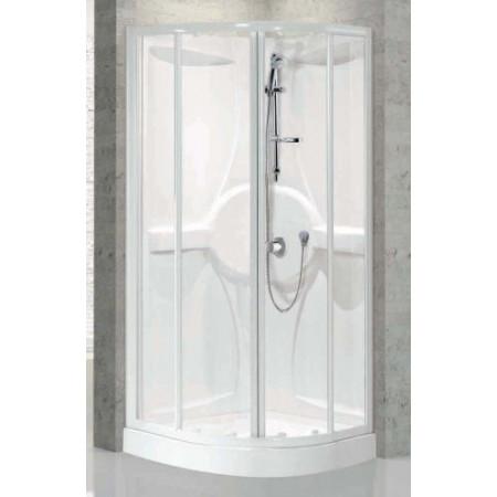 Shower Pod ,900mm Quadrant Shower Pod