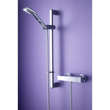 Bristan Quadrato Thermostatic Surface Mounted Bar Shower