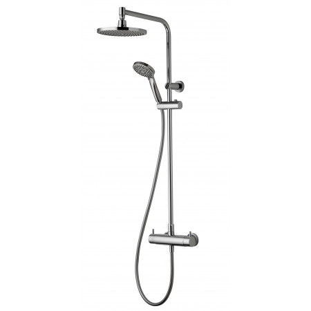 Aqualisa Dual Exposed Shower with fixed and adjustable heads