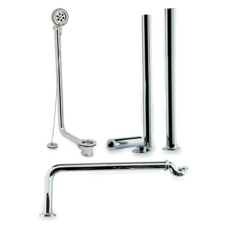Hudson Reed Chrome Roll Top Bath Pack | EA368