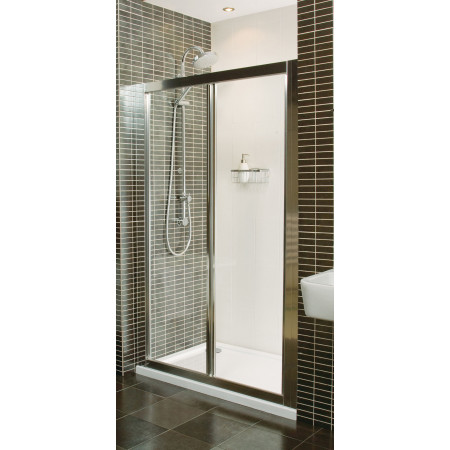 Roman Collage 900mm BiFold Shower Door